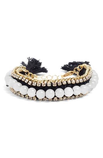 Women's Ettika Rhinestone & Bead Bracelet