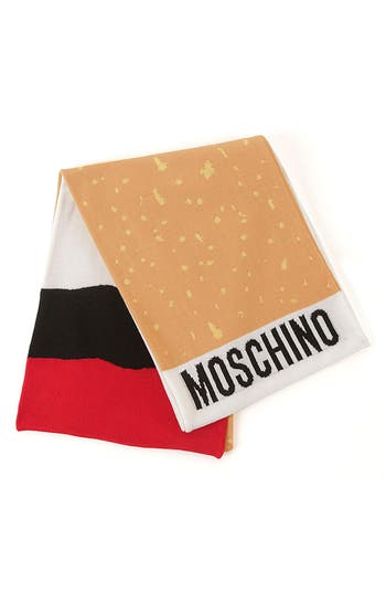 Women's Moschino 'It's Lit' Knit Scarf