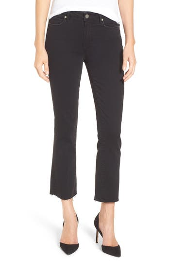 Women's Paige Colette High Waist Raw Hem Crop Flare Jeans at NORDSTROM.com