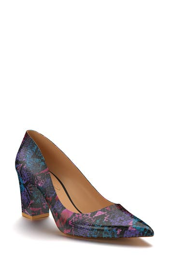 Shoes Of Prey Pointy Toe Pump, Purple
