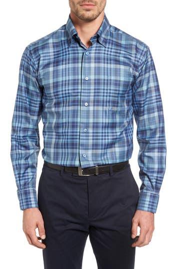Men's Robert Talbott 'Anderson' Classic Fit Plaid Sport Shirt