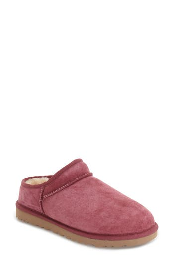Ugg Classic Water Resistant Slipper (Women), Pink