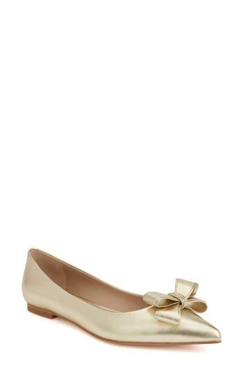 Women's Shoes Of Prey X Megan Hess Bow Flat