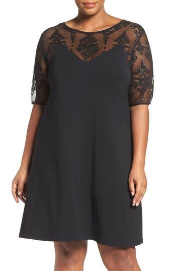 Plus Size Tart Jessar Lace Yoke Shift Dress