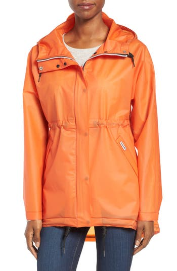 Women's Hunter 'Original Smock' Hooded Drawstring Waterproof Jacket