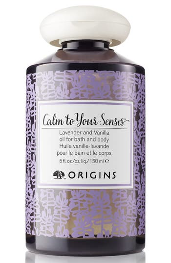 Origins Calm To Your Senses(TM) Lavender And Vanilla Oil For Bath And Body