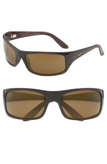 Men's Maui Jim 'Peahi - Polarizedplus2' 67Mm Sunglasses -