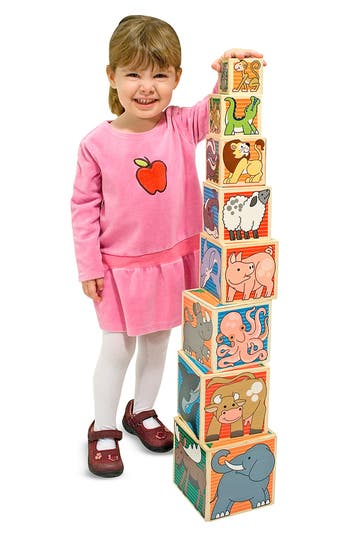 Toddler Melissa & Doug Animal Nesting Blocks