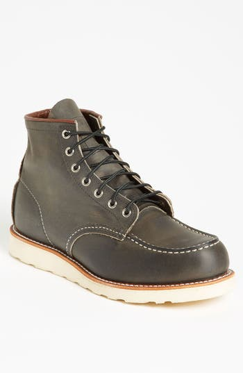 Men's Red Wing 6 Inch Moc Toe Boot
