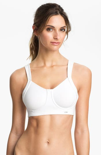 Natori Underwire Sports Bra, White