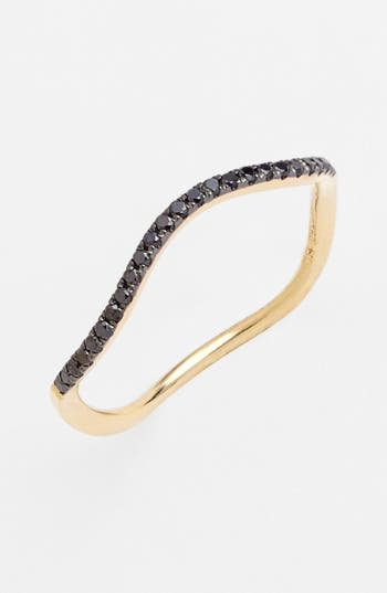 Women's Bony Levy Stackable Wavy Diamond Ring (Nordstrom Exclusive)