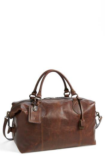 Frye 'Logan' Leather Overnight Bag