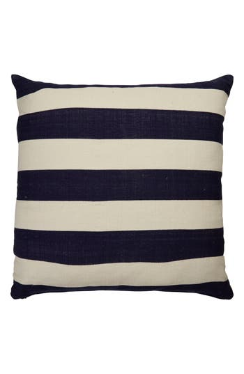 Kate Spade New York Double Stripe Accent Pillow, x32 - Blue