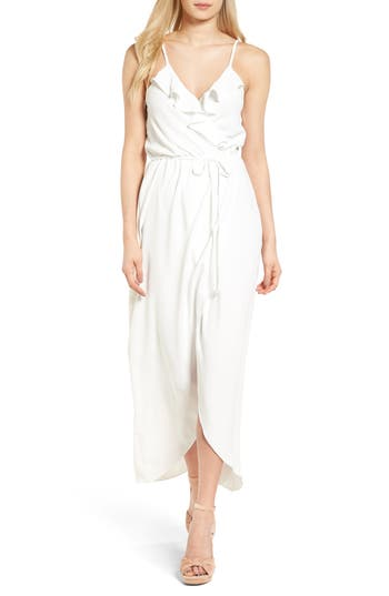 Women's Everly Ruffle Wrap Maxi Dress