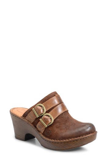 B?rn Laura Platform Clog, Brown