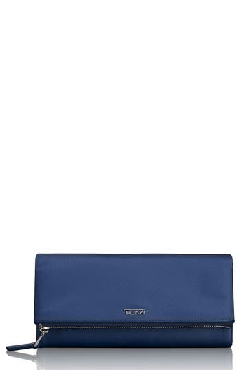 Tumi Continental Flap Tech Wallet - Blue
