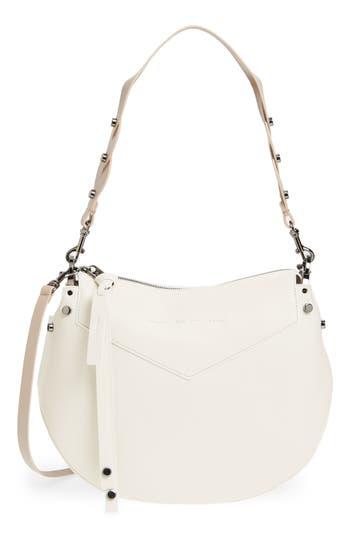 Jimmy Choo Artie Nappa Leather Hobo Bag - White