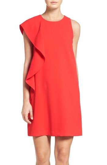 Women's Chelsea28 Asymmetrical Ruffle Shift Dress