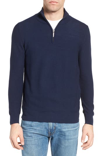 Jeremy Argyle Quarter Zip Sweater
