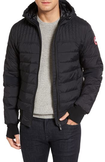 Canada Goose Cabri Hooded Down Jacket, Black