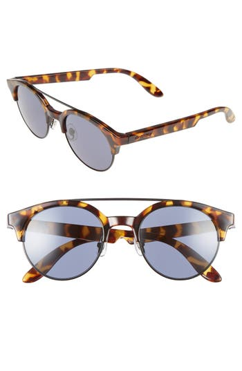 Carrera Eyewear Retro 50Mm Sunglasses - Havana Black