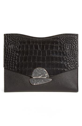 Proenza Schouler Medium Curl Leather Clutch -