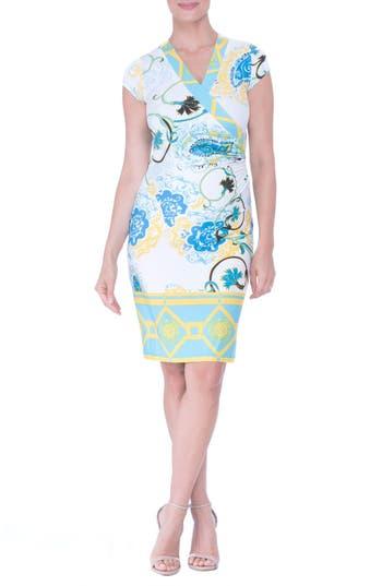 Women's Olian Faux Wrap Maternity Dress
