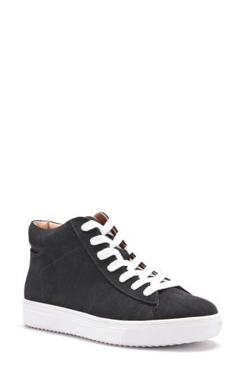 Blondo Jax Waterproof High Top Sneaker- Black