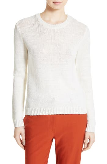 Theory Yulia Summer Boucle Merino Wool Sweater