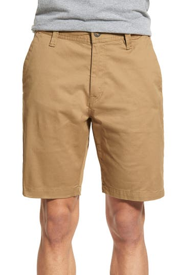 Volcom Lightweight Shorts, Beige