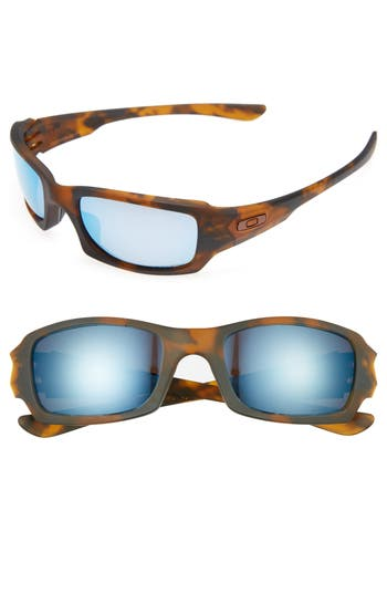 Oakley Fives Squared H2O 5m Polarized Sunglasses - Brown Tort