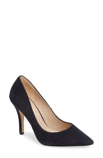 Pelle Moda Vally Pointy Toe Pump, Blue