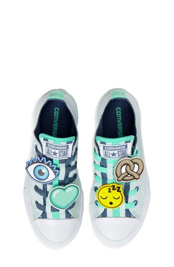 Girl's Converse Chuck Taylor All Star Loopholes Emoji Sneaker