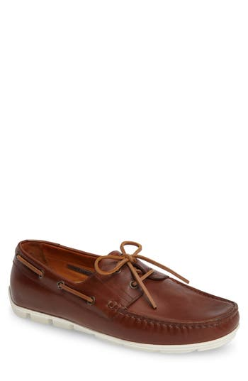 Vince Camuto Don Boat Shoe, Brown