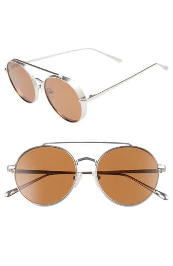 Bonnie Clyde Olympic 5m Polarized Aviator Sunglasses - Skyline Slate