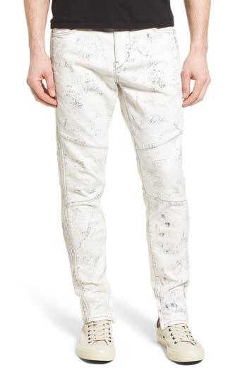Big & Tall True Religion Racer Skinny Fit Jeans, Black
