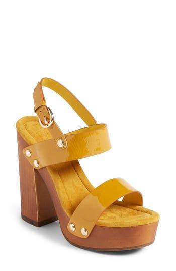 Women's Joie Dea Sandal, Size 5US / 35EU - Yellow