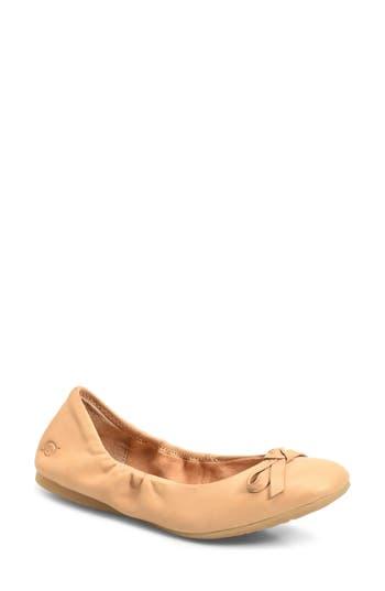 B?rn Karoline Ballet Flat, Beige