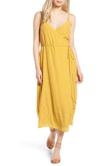 Women's Hinge Jacquard Wrap Dress