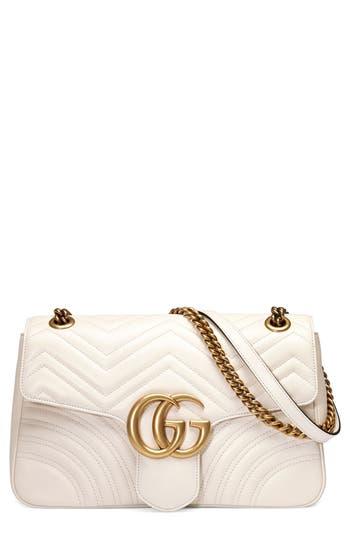 Gucci Medium Gg Marmont 2.0 Matelassé Leather Shoulder Bag -
