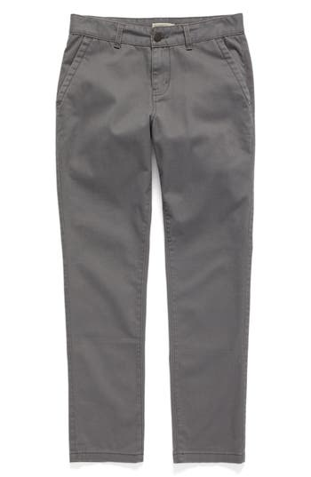 Boys Tucker  Tate Chino Pants Size 16  Grey