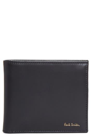 Paul Smith Multistripe Leather Wallet -