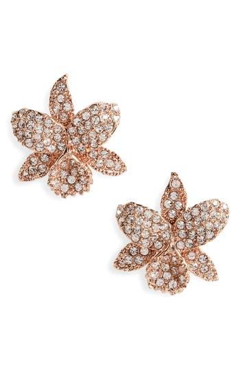 Women's Nina Small Orchid Crystal Stud Earrings