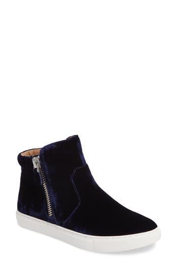 Gentle Souls Carole Zip Sneaker, Blue