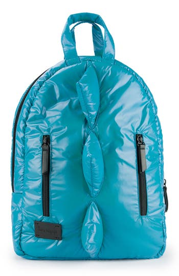 Infant 7 A.m. Enfant Dino Water Repellent Mini Backpack - Blue/green