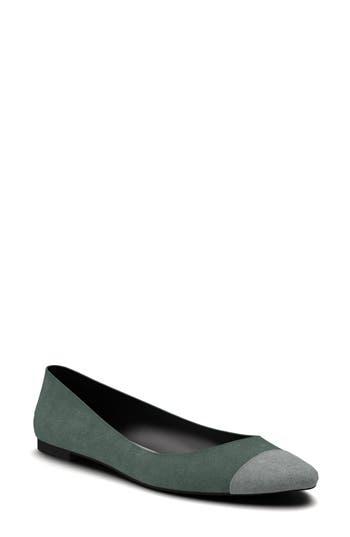 Shoes Of Prey Ballet Flat - Green