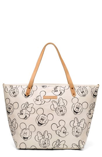 Infant Petunia Pickle Bottom Downtown Disney Mickey Mouse Print Diaper Tote