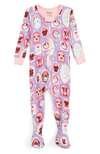 Infant Girl's Hatley Fitted One-Piece Pajamas