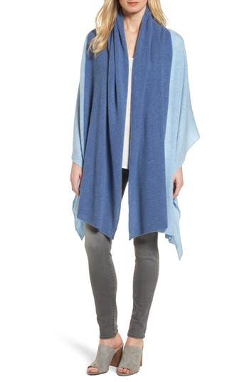 Women's Halogen Colorblock Cashmere Wrap