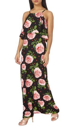 Dorothy Perkins Popover Maxi Dress, US / 8 UK - Black